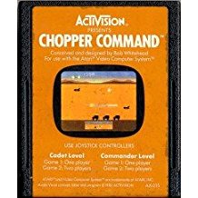 2600: CHOPPER COMMAND (WORN LABEL) (GAME)